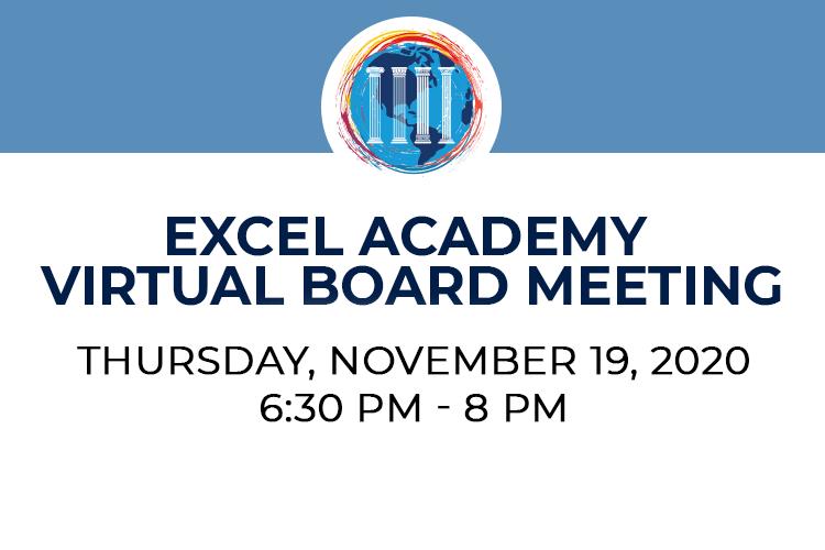 EXCEL Virtual Board Meeting